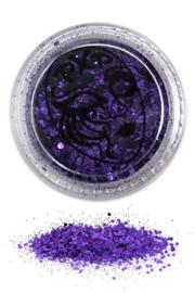 Glitters purple rain fijn