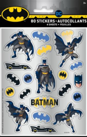 Stickers Batman 4 vellen