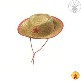 Kinder cowboy hoed | Stro