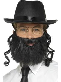 Rabbij joods verkleedset
