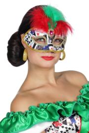 Oogmasker Casino girl