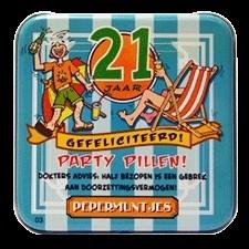 21 jaar! fun pepermuntjes