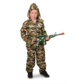 Soldaat sniper kostuum