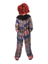 Creepy clown kostuum