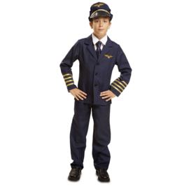 Piloot kostuum jongen