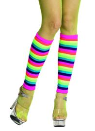 Beenwarmers neon regenboog