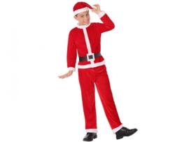 Kerstman kostuum jongen
