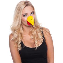 Kippen neus masker