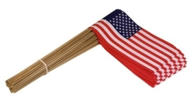 Zwaai vlaggen