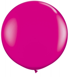 Ballon 90cm wild berry Qualatex