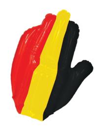 Opblaasbare hand Belgie
