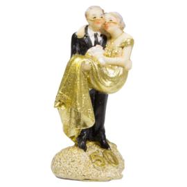 Bruidspaar beeldje 50 jaar getrouwd