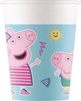 Pepa Pig Star Shine | Composteerbaar papieren bekers
