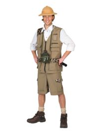 Safari Sam kostuum