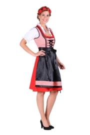 Dirndl jurk Hannah rood OP=OP