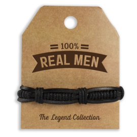 Armband - Real Men   Luxe