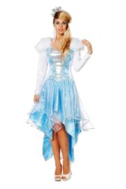 Ijskoningin jurk deluxe