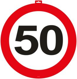 Deurbord 50 jaar