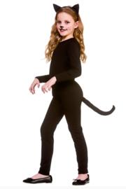 Black cat kostuum