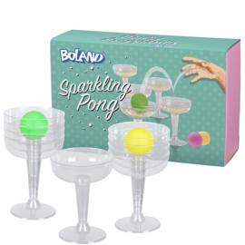 Sparkling pong drinkspel