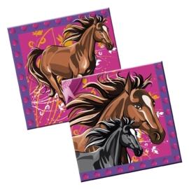 I love paarden servetten