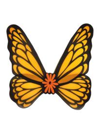 Vlinder Vleugels oranje