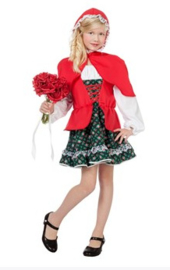 Roodkapje jurkje deluxe