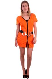 Gevangenis jurkje oranje