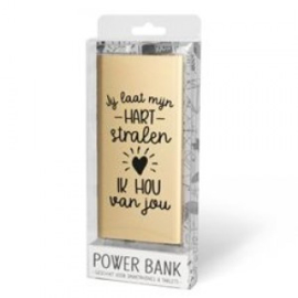 Powerbank ik hou van jou