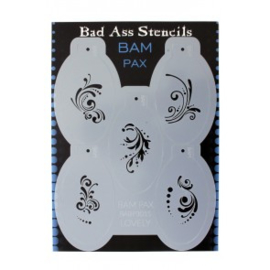Bad Ass BAM PAX stencil 3015