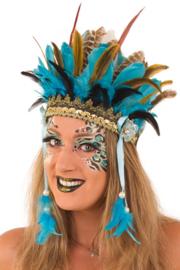 Veren hoofd tooi | Wichita carnavalstooi