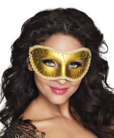 Oogmasker Gabrielle goud