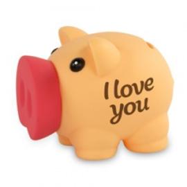 Fun spaarvarken I love you