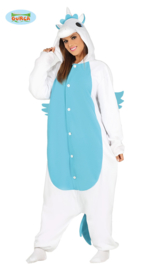 Onesie Unicorn blue