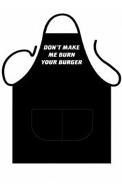 Schort Burned burger