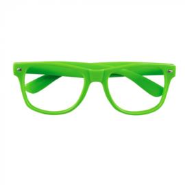 Partybril | neon groen