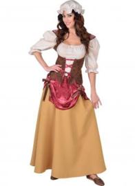 Middeleeuwse boerinnen jurk OP=OP