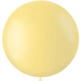 Ballon Powder Yellow Mat - 78 cm |