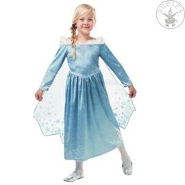 Elsa Frozen Olafs jurk deluxe