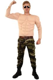 Gespierd bodybuilders shirt