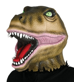 Latex Dinosuarusdinosaurus masker