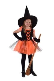 Heksen jurkje pumpkin (op=op)