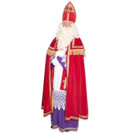 Sinterklaas kostuum polyester fluweel