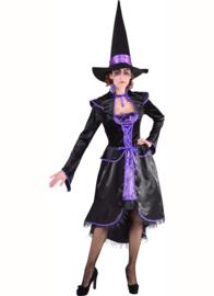 Heksen jurk deluxe op=op