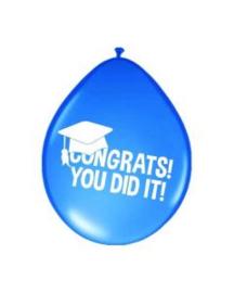 Ballonnen congrats you did it