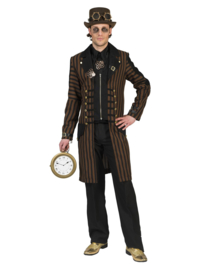 Steampunk jas heren