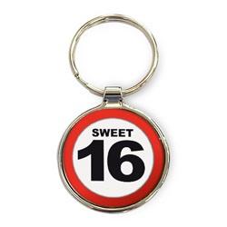 Luxe Sleutelhanger - Sweet 16
