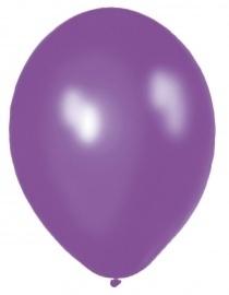 Kwaliteitsballon Standaard - Paars - 50 Stuks
