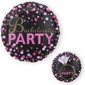 Folieballon 'Bachelorette party' (43cm)