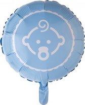 Folieballon baby boy